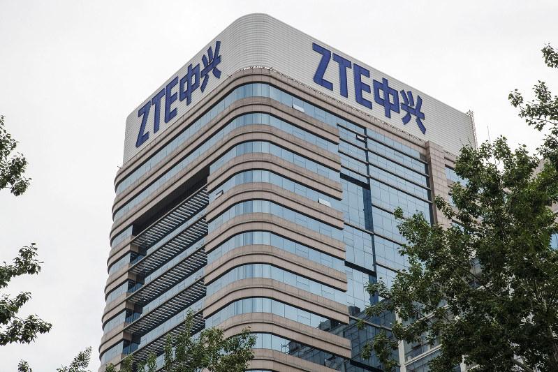 中国の通信機器大手、中興通訊(ZTE)は一時、米国から制裁を受けた