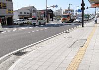 和歌山県警の機動隊員が拳銃を落とし、近隣住民が拾った現場=和歌山市橋向丁で、黒川晋史撮影