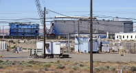 This May 13, 2017, file photo shows a portion of the Plutonium Finishing Plant on the Hanford Nuclear Reservation near Richland, Wash. (AP Photo/Nicholas K. Geranios)
