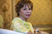 In this June 5, 2017 file photo, Chilean author Isabel Allende poses for a photograph after the presentation of her latest book