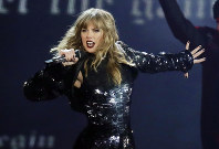 This May 8, 2018 file photo shows Taylor Swift performing during her