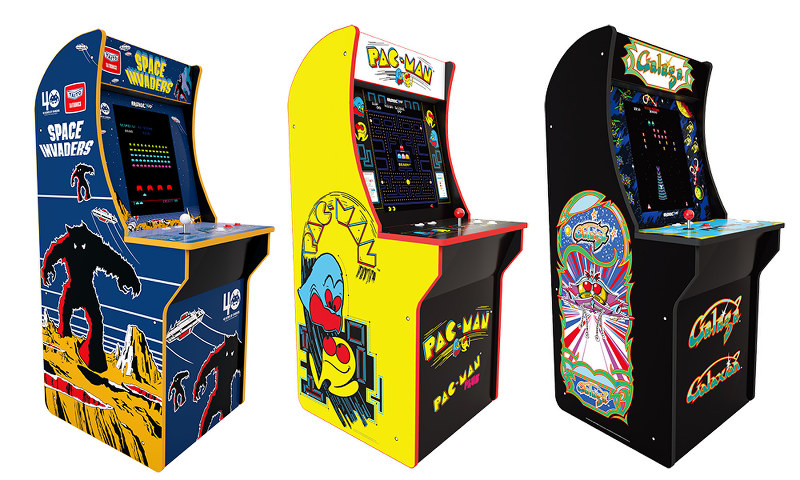 Retro Game Machines To Bring Classic Arcade Experience To
