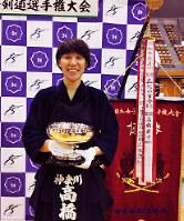 全日本女子選手権で2連覇を果たした高橋