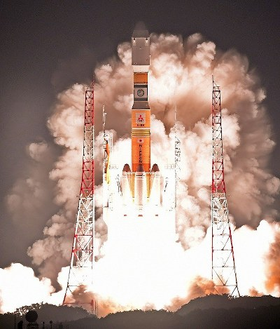 In Photos: Japan launches rocket to deliver supplies to ISS