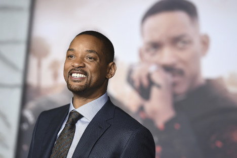 In this Dec. 13, 2017 file photo, Will Smith arrives at the U.S. premiere of