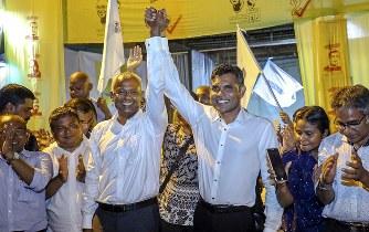 モルディブ大統領選:親中派、敗...