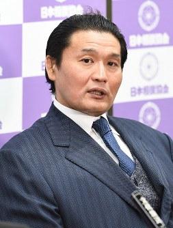 Stablemaster Takanohana (Mainichi/Hiroshi Maruyama)