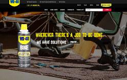 WD-40はバイク用や自転車用など品ぞろえを拡大している。同社ホームページ