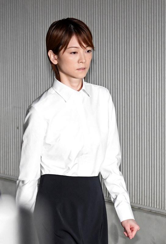 吉沢ひとみ被告:原宿署から保釈...
