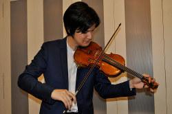 名器ストラディバリウスを弾く気鋭の若手バイオリニスト、成田達輝さん
