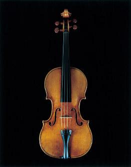 日本音楽財団所有の1715年製ストラディバリウス「ヨアヒム」(写真提供:日本音楽財団、写真:横山進一)