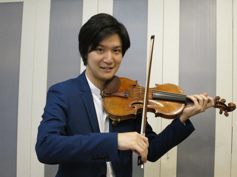 成田達輝 バイオリニスト