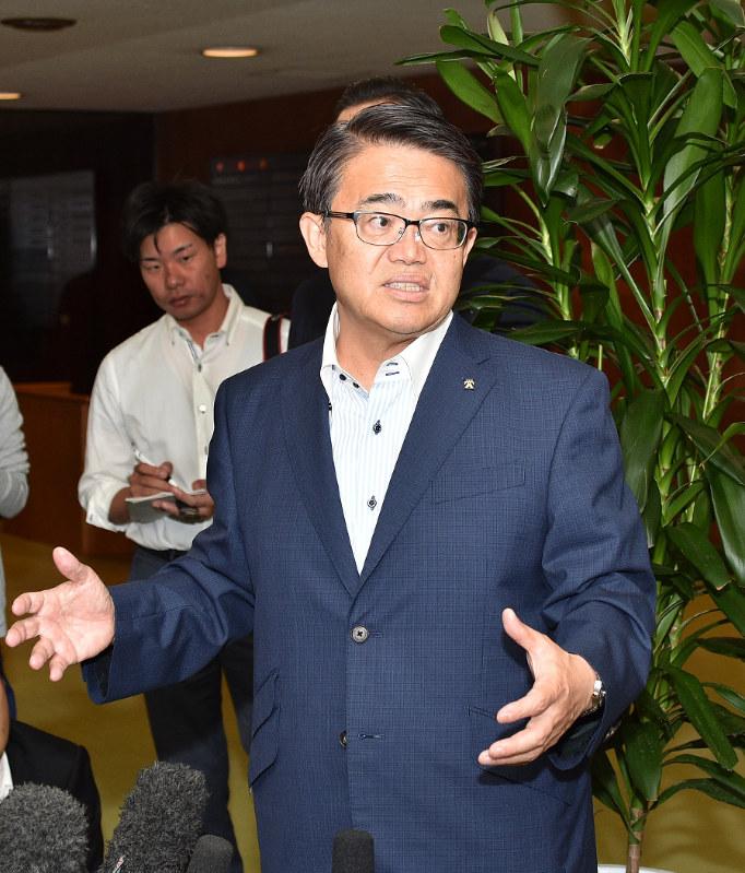 愛知県知事選:大村知事出馬表明 人口減時代、効果に不安 - 毎日新聞