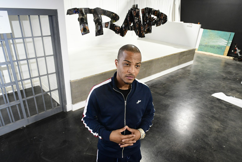 T I  wants to highlight trap music with pop-up museum, album