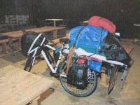 山口県周南市で逮捕された樋田淳也容疑者が乗っていた自転車=大阪府警提供