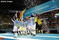 2年前のコロンビア大会ではアルゼンチンが優勝