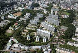 日本最大級の建て替えで誕生した「Brilla多摩ニュータウン」(2013年9月) 東京建物提供