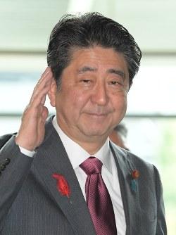 Prime Minister Shinzo Abe (Mainichi/Masahiro Kawata)