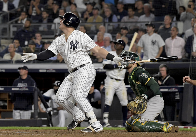 Mlb Bring On Boston Yanks Rout As 7 2 In Wild Card Game The