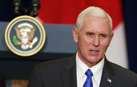 U.S. Vice President Mike Pence (AP)