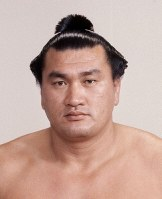 大相撲横綱の輪島(花籠部屋)=1980年11月撮影