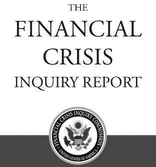 金融危機調査リポートの表紙