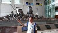 「戦艦大和の歴史を通して、命の大切さ、戦争の悲惨さ、平和の尊さを伝えたい」と話す川西光治さん=広島県呉市の大和ミュージアムで