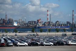 米国は日本車の最大の輸出先(Bloomberg)