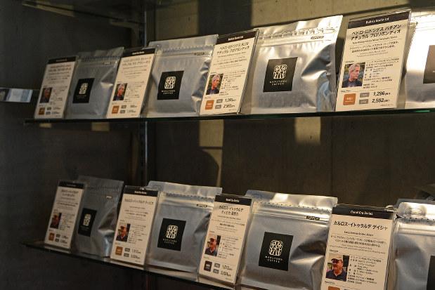 販売する豆には生産者も紹介されている