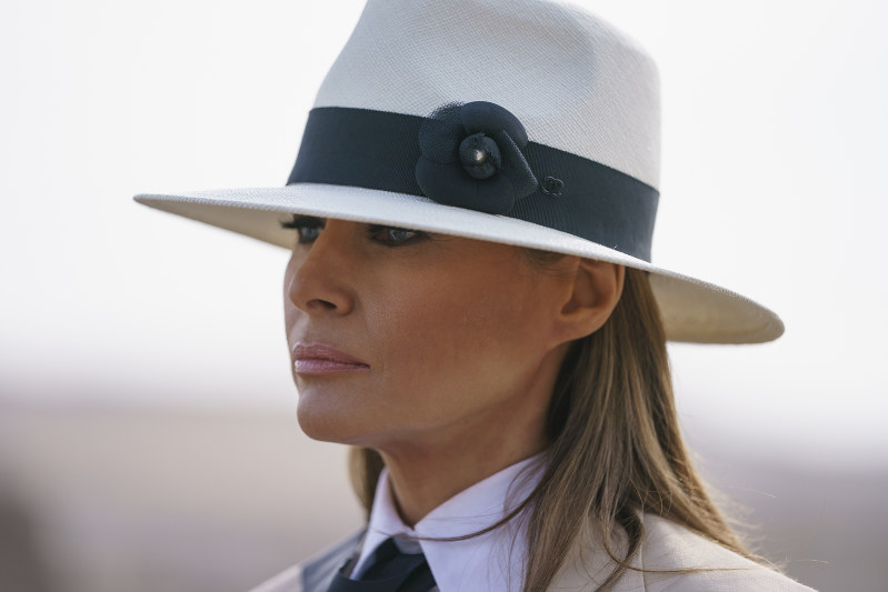 Melania Trump Responds To Controversy About Her Africa Visit Wardrobe