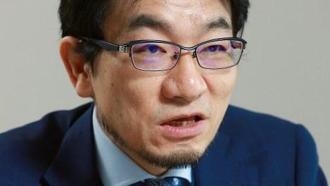 河野龍太郎氏=宮武祐希撮影
