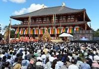 興福寺の中金堂=加古信志撮影