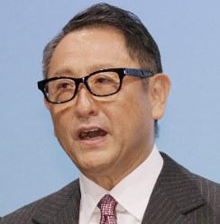 トヨタの豊田章男社長