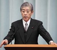 Defense Minister Takeshi Iwaya (Mainichi)