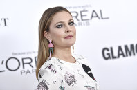 In this Nov. 13, 2017, file photo, Drew Barrymore attends the 2017 Glamour Women of the Year Awards at Kings Theatre in New York. (Photo by Evan Agostini/Invision/AP)