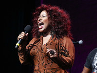 In this Oct. 24, 2014, file photo, Chaka Khan performs at the 13th annual