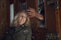 This image released by Universal Pictures shows Jamie Lee Curtis in a scene from