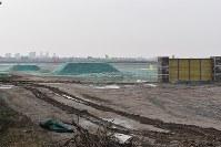 1年前に更地だった雄安新区=中国・河北省で、赤間清広撮影