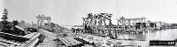 建設中の鉄橋とみられる写真。(3枚つなぎ)場所などの詳細は不明=ジョン・ローリー氏提供