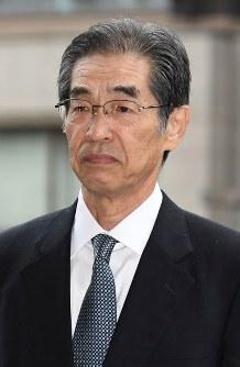 Ichiro Takekuro, a former vice president at Tokyo Electric Power Co., enters the Tokyo District Court in Tokyo's Chiyoda Ward in this June 30, 2017 file photo. (Mainichi/Kimi Takeuchi)