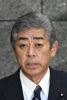 Japanese Defense Minister Takeshi Iwaya (Mainichi)