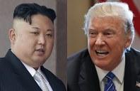 U. S. President Donald Trump, left, and North Korean leader Kim Jong Un (AP)