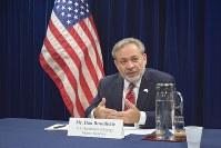 U.S. Deputy Secretary of Energy Dan Brouillette (Mainichi/Kenji Shimizu)