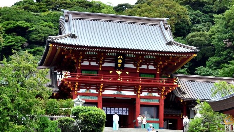 鶴岡八幡宮=2011年9月1日、松永東久撮影