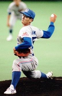 第65回都市対抗野球(94年)で本田技研鈴鹿に補強され、2回戦に先発した黒木知宏投手