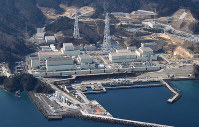 The Onagawa Nuclear Power Plant is pictured in Onagawa, Miyagi Prefecture, in February 2017. (Mainichi)