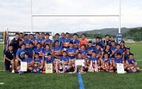 札幌山の手の選手たち=遠軽町えんがる球技場で2018年9月24日、竹内幹撮影