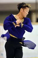 【フィギュア西日本選手権】男子SPで演技をする高橋大輔=名古屋市南区の日本ガイシアリーナで2018年11月3日、大西岳彦撮影