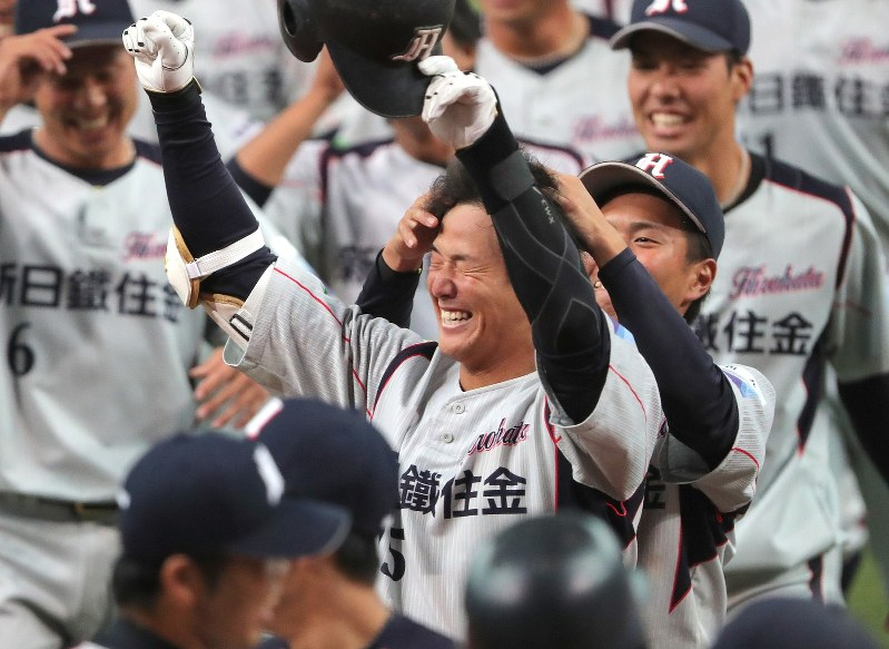 社会人野球日本選手権:新日鉄住...