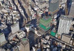 東京・渋谷の大規模開発。新たな価値の創造が期待される